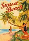 Sunset Beach Hawaii - Hawaii Magnet