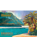 Exotic Hawaii - Paradise of the Pacific - Hawaii Magnet