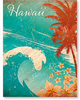 Hawaiian Wave - Hawaiian 'Alohi Magnet - Glitter Embellished