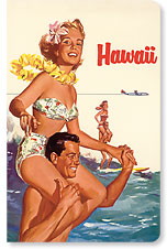 Hawaii Northwest Orient Airlines - Hawaii Mini Notebook