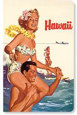 Hawaii Northwest Orient Airlines - Hawaii Mini Notebook