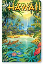 Aloha from Hawaii - Hawaii Mini Notebook