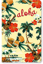 Island Scene - Hawaii Mini Notebook