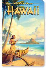 Aloha Hawaii - Hawaii Mini Notebook