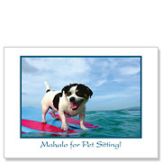Yappy Hour - Pet Sitting Greeting Card