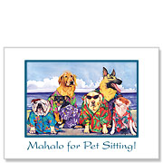 Beach Boys - Pet Sitting Greeting Card
