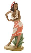 Graceful Dancer - Hawaiian Porcelain Figurines