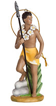 Spearman - Hawaiian Porcelain Figurines