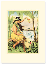 Mid Pacific Carnival 1915 - Personalized Vintage Collectible Greeting Card