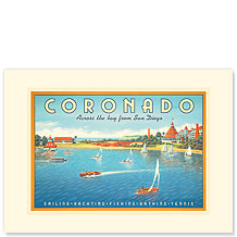 Coronado - Premium Vintage Collectible Blank Greeting Card