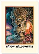The Moon of Manakoora - Halloween Greeting Card