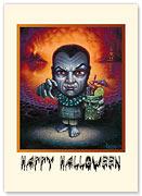 Dracula - Halloween Greeting Card