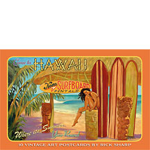 Hawaii - Hawaiian Boxed Postcards