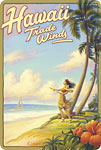 Hawaii Trade Winds - Hawaiian Vintage Postcard