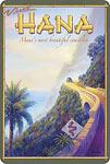 Visit Hana - Hawaiian Vintage Postcard