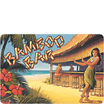 Bamboo Bar - Hawaiian Vintage Postcard