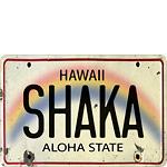 Shaka - Hawaiian Vintage Postcard