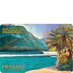 Exotic Hawaii - Paradise of the Pacific - Hawaiian Vintage Postcard