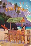 Tiki Bar - Bali Hai, Makana Mountain - Kauai Hawaii - Hawaiian Vintage Postcard