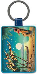Aloha Hawaii - Hawaiian Leatherette Keychains