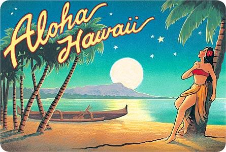 Apologise, vintage nude hawaiian sticker