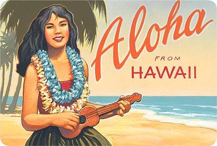 Intelligible vintage nude hawaiian sticker interesting idea
