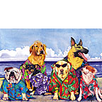 Beach Boys - Personalized Greeting Card