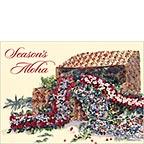 Holiday Treasures - Hawaiian Holiday / Christmas Greeting Card