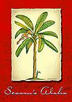 Banana Plant - Personalized Holiday Greeting Card