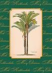 Christmas Palm - Hawaiian Holiday / Christmas Greeting Card