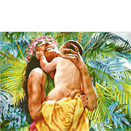 "Beloved Child - ""Keiki Milimilii"" - Limited Edition Giclée Art Print"