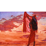 "Red Sky - ""Lani 'Ula'ula"" - Limited Edition Giclée Art Print"