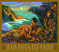 Hawaiian Islands - Fine Art Giclée Print