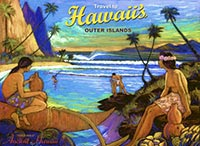 Hawaii's Outer Islands - Fine Art Giclée Print