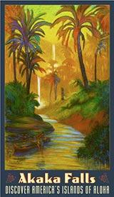 Akaka Falls - Fine Art Giclée Print