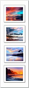 Grouped Photo # 4 - Premium Double Matted Giclée Art Print