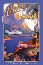 Aloha Hawaii - South Seas - Hawaiian Boxed Postcards