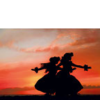 Hula Sisters - Personalized Greeting Card