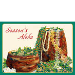 A Lei Never Forgotten - Holiday / Christmas Greeting Card