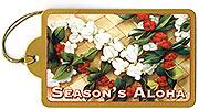 Holiday Leis - Hawaiian Holiday Christmas Gift Tag