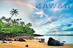 Rainbow Land - Hawaii Magnet