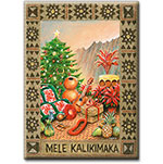 Na Makana - Hawaiian Holiday Christmas Magnet