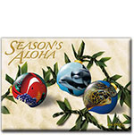 Ocean Ornaments - Hawaiian Holiday Christmas Magnet