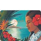Aloha Moonrise - Hawaiian Thank You / Mahalo Note Cards