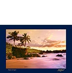 Pastel of Light - Hawaiian Photography Postcard by Monica & Michael Sweet