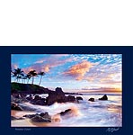 Paradise Colors - Hawaiian Photography Postcard by Monica & Michael Sweet
