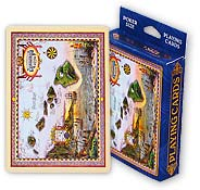 Map of Old Hawaii - Hawaii Poker Playing Cards