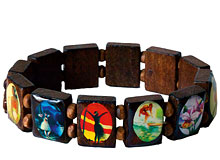 Vintage Art Hawaiian Bracelet - Hawaiian Jewelry
