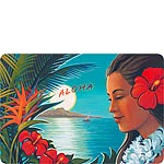 Aloha Moonrise - Hawaiian Vintage Postcard
