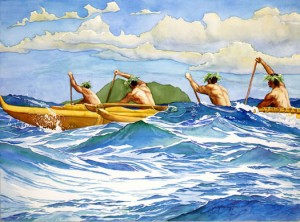 outrigger_at_sea